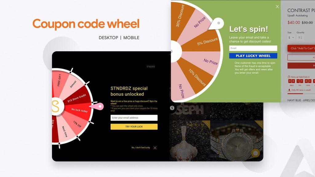 Coupon Code Wheel