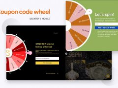 Coupon Code Wheel